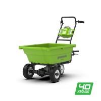 Садовий візок акумуляторний Greenworks G40GC