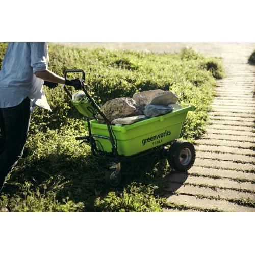 Садовий візок самохідний акумуляторний Greenworks G40GC без АКБ і ЗП