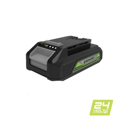 Акумулятор Greenworks G24USB2 (2 Ah) з USB-рознімачем, без ЗП