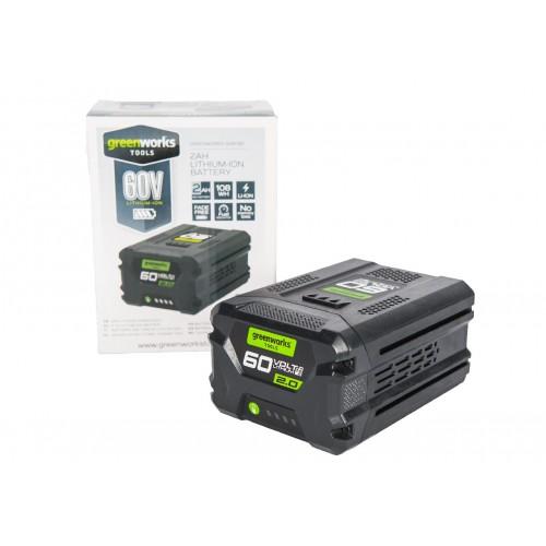 Акумулятор Greenworks G60B2 (2 Ah) без ЗП