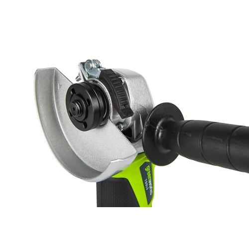 Кутошліфувальна машина акумуляторна Greenworks G24AG без АКБ і ЗП
