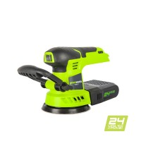 Шліфмашинка акумуляторна Greenworks G24ROS