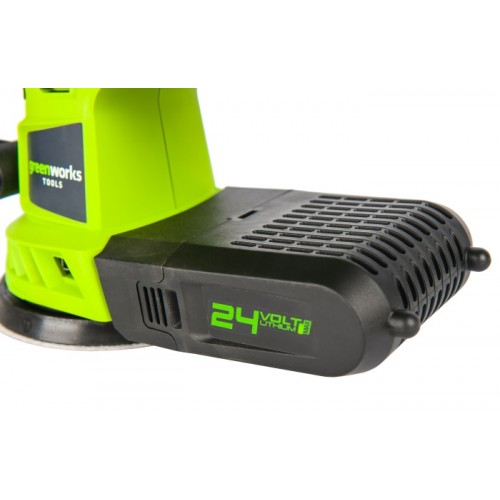 Шліфмашинка акумуляторна Greenworks G24ROS без АКБ і ЗП