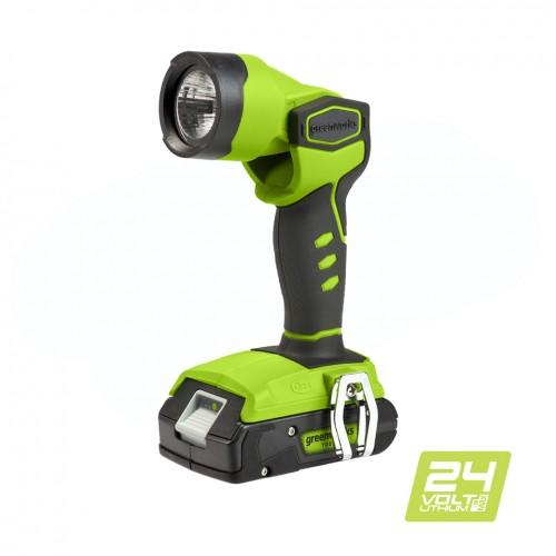 Ліхтар акумуляторний Greenworks G24WL без АКБ і ЗП