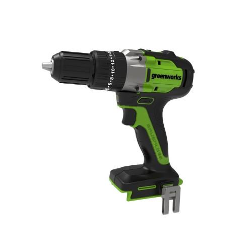Дриль-шуруповерт  акумуляторний Greenworks GD24DD35 без АКБ і ЗП