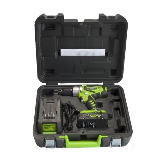Дриль-шуруповерт ударний акумуляторний Greenworks G24CD без АКБ і ЗП