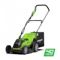 Газонокосарка акумуляторна Greenworks G40LM35