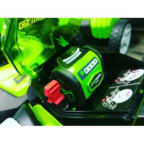 Газонокосарка акумуляторна Greenworks G40LM35K2 з АКБ 2 Ah і ЗП