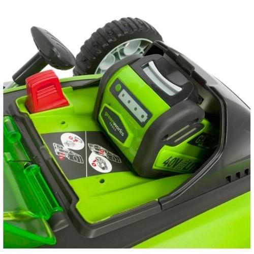 Газонокосарка акумуляторна Greenworks G40LM40 без АКБ і ЗП
