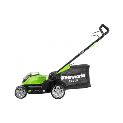 Газонокосарка акумуляторна Greenworks G40LM41K2 з АКБ 2 Ah і ЗП