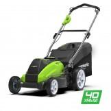 Газонокосарка акумуляторна Greenworks G40LM45