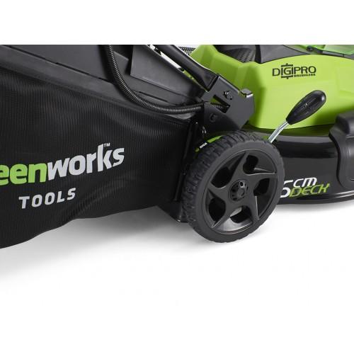 Газонокосарка акумуляторна Greenworks GD40LM45К4 з АКБ 4 Ah і ЗП