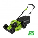 Газонокосарка акумуляторна Greenworks GD40LM46HP