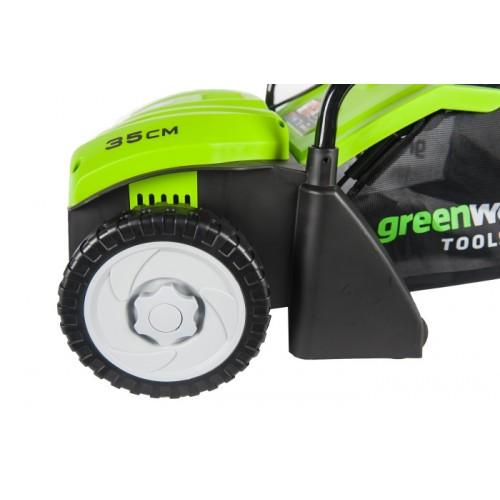 Аератор електричний Greenworks GDT30 230V