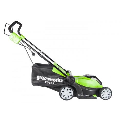 Газонокосарка електрична Greenworks GLM1241 230V