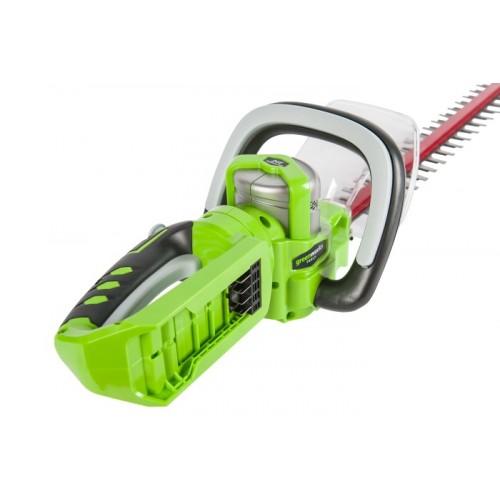 Кущоріз акумуляторний Greenworks G24HT57 без АКБ і ЗП
