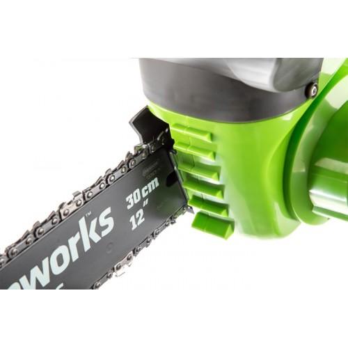Ланцюгова пила акумуляторна Greenworks G40CS30 без АКБ і ЗП