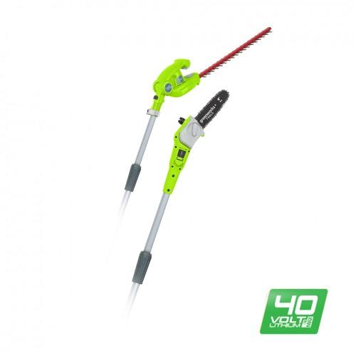 Висоторіз-кущоріз акумуляторний Greenworks G40PSH без АКБ і ЗП