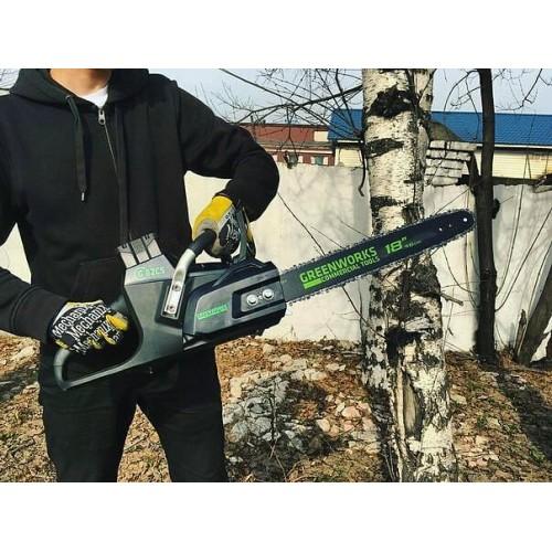 Ланцюгова пила акумуляторна Greenworks GC82CS без АКБ і ЗП