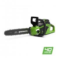 Ланцюгова пила акумуляторна Greenworks GD40CS15