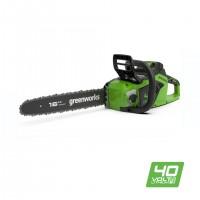 Цепная пила аккумуляторная Greenworks GD40CS18