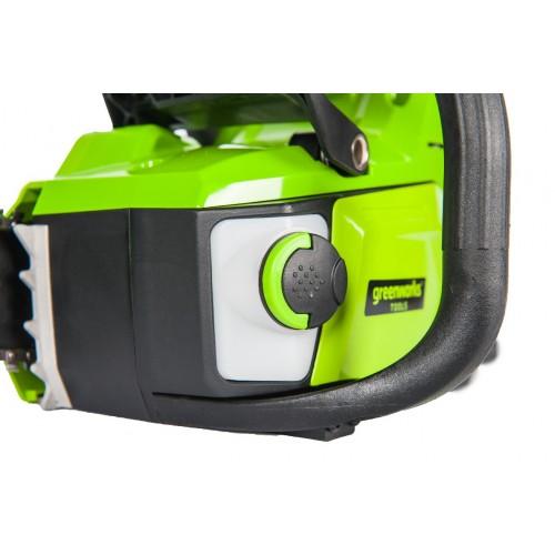 Ланцюгова пила акумуляторна Greenworks GD60CS40K4 з АКБ 4 Ah і ЗП