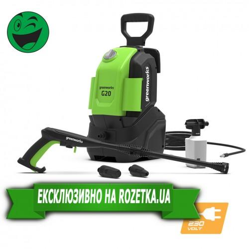 Мийка високого тиску Greenworks G20 230V