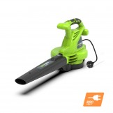 Повітродувка-пилосос електрична Greenworks GBV2800