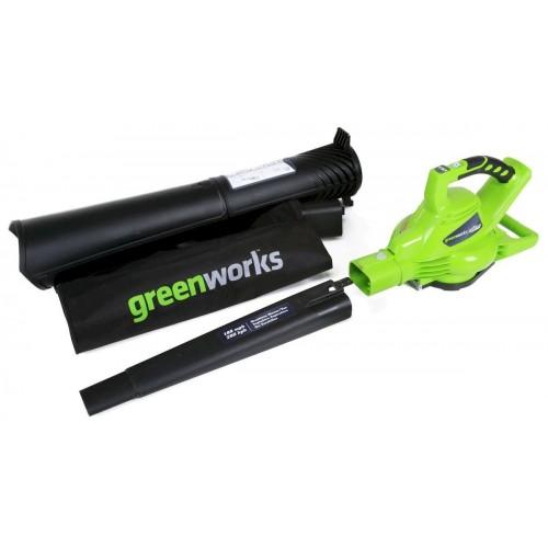 Повітродувка-пилосос електрична Greenworks GBV2800 230V