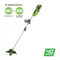 Тример акумуляторний Greenworks G40LTK2