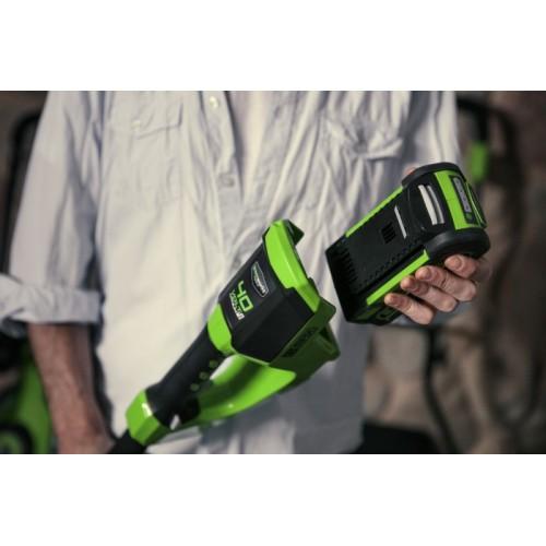Тример акумуляторний Greenworks G40LTK2 з АКБ 2 Ah і ЗП