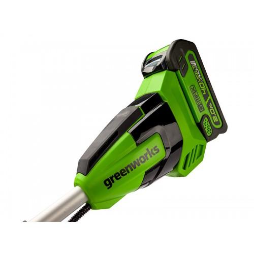 Тример акумуляторний Greenworks GD40BCB без АКБ і ЗП