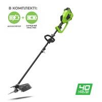 Тример акумуляторний Greenworks GD40BCK4
