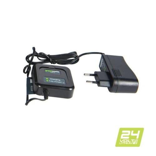 Зарядний пристрій-слайдер Greenworks G24C без АКБ