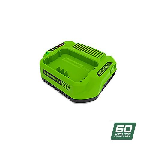 Зарядний пристрій Greenworks G-MAX 60V без АКБ