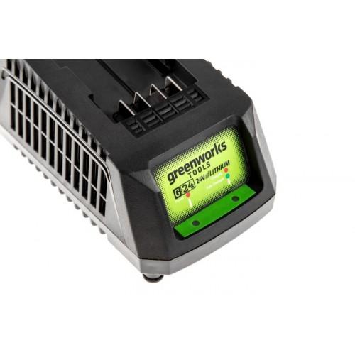 Універсальний зарядний пристрій Greenworks G24UC без АКБ