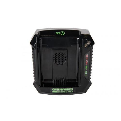 Зарядний пристрій Greenworks G82UC без АКБ